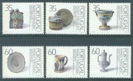 PORTUGAL - 1991 - MNH/*** LUXE - FAIENCE  -  Mi 1848-1853 Yv 1826-1831 - Lot 19417 - 1910-... République