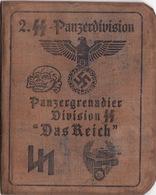DOCUMENT III Reich. Nazi WW2 Germany.not Original - Documenten