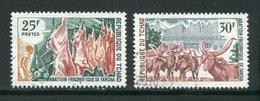 TCHAD- Y&T N°213 Et 214- Oblitérés - Chad (1960-...)