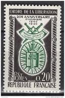 FRANCE 1960 -  Y.T. N° 1272 - NEUF** - Nuevos