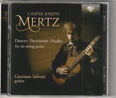 Cd  GASPARD LOSEPH MERTZ  2 CD Guitar ETUDES  Graziano Salvoni  Etat: TTB Port 140 GR - Classique
