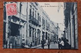 SANTOS (BRESIL / BRAZIL) - RUA 15 DE NOVEMBRO - Brazilië