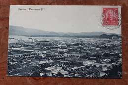 SANTOS (BRESIL / BRAZIL) - PANORAMA III - Brazilië