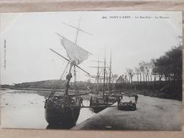 Pont L'Abbé.le Bas Port.la Rivière.édition Villard - Pont L'Abbe