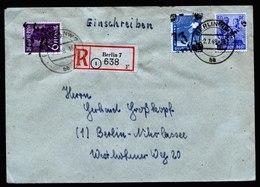 A6088) SBZ R-Brief Handstempel Berlin 6 Bzw. 7 N. Berlin-Nikolassee - Sowjetische Zone (SBZ)