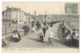 CPA JERSEY Première Tour - Esplanade - Jersey