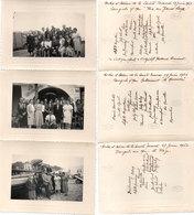 3 Photos Localisées A BANYULS SUR MER  (66) Avec Noms Et Prénoms Des Personnages - Restaur. La Marenda - Plage(112712) - Lieux