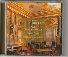 Cd  NORBERT BURGMULLER  Lieder Piano Sonata  Op.8   Etat: TTB Port 110 GR - Classique