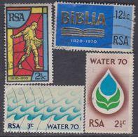 Afrique Du Sud N° 324 / 27  O   Les 4 Valeurs Oblitérations Faibles à Moyennes  Sinon TB - Afrique Du Sud (1961-...)