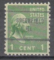 USA Precancel Vorausentwertung Preo, Locals Illinois, Greenfield 704 - Vereinigte Staaten