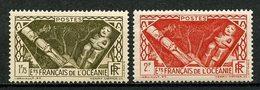 OCEANIE 1939 N° 113/114 * Neuf MH TTB C 8,30 € Divinités Indigènes - Océanie (Établissement De L') (1892-1958)