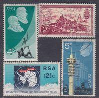 Afrique Du Sud N° 328 / 31 X,  O   Les 4 Valeurs Oblitérations Moyennes Ou Trace De Charnière Sinon TB - Afrique Du Sud (1961-...)