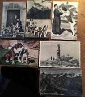 6 Cartes Postales , Saint Bernard, Le Grand St Bernard - VS Wallis