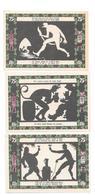**notgeld   Grunberg 3 X 75 Pf  489.2/3+4+6 - [11] Local Banknote Issues