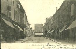 55 Meuse ETAIN Rue De Metz Animée - Etain