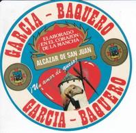 ETIQUETA ADHESIVO DEL QUESO GARCIA BAQUERO (MOLINO-MILL-MOULIN) OVEJA - Quesos