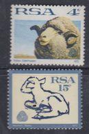 Afrique Du Sud N° 335 / 36 XX Série Courante : Mérinos Les 2 Valeurs Sans Charnière, TB - Afrique Du Sud (1961-...)
