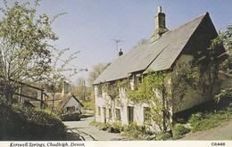 Postcard Kerswell Springs Chudleigh Devon Nr Bovey Tracey & Newton Abbot My Ref  B13003 - England