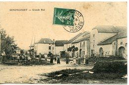 1061. CPA 70 SENONCOURT. GRANDE RUE 1908 - Frankreich