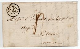 Prephilatélique,de SAINS Vers RHEIMS Du 05-11-45,voir Scanns - 1849-1876: Classic Period