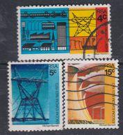 Afrique Du Sud N° 338 / 40 O  50ème Ann. De La Commission De L'électricité : Les 3 Valeurs Oblitérées Sinon TB - Afrique Du Sud (1961-...)