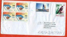 Cuba 2019. Envelope Really Past The Mail. Bird.Beaches. - Cuba
