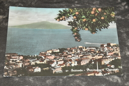 5785     SORRENTO, PANORAMA E VESUVIO - Napoli (Naples)