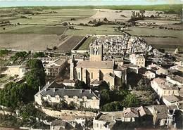 -gds Formats -ref-Y985- Charente Maritime - Saint Savinien - St Savinien - Vue Arienne Eglise Et Bourg - Edit. Lapie N°5 - France