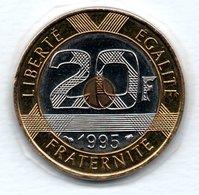 20 Francs 1995     -  état  FDC - France