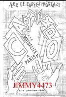 CPM - JEUX DE CARTES POSTALES A LA MUTUALITE A PARIS Janvier 1986 - Scans Recto-Verso - Bourses & Salons De Collections