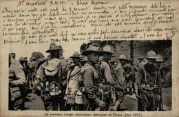 Les Premières Troupes Américaines Débarquées En France (juin 1917) - Guerre 1914-18