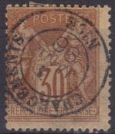 """Nice """"Chargements"""" (Alpes Maritimes) : Cachet à Date Type 15 Sur Sage. - 1877-1920: Période Semi Moderne"""