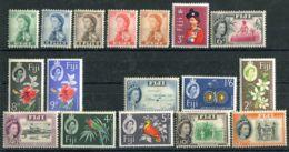 FIDJI ( POSTE ) Y&T N°  155/169  SAUF  162B  +  LE  166Aa  TIMBRES  NEUFS  SANS  TRACE  DE  CHARNIERE . - Fidji (1970-...)