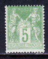 France 1898 Yvert 102 ** TB Type III - 1898-1900 Sage (Type III)