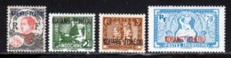 Kouang-Tcheou 1937 Yvert 52 - 103 - 125 - 134 ** TB - Unused Stamps