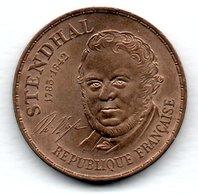 Stendhal  -- 10 Francs 1983       -  état  SUP - France