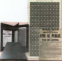 """449. Coffret """"prestige"""" Commémorant Les 170 Ans Du Premier Timbre-poste Français CÉRÈS. Neuf★★. 1er Choix. LUXE - Mint/Hinged"""