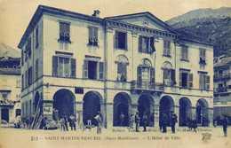 SAINT MARTIN VESUBIE (Alpes Maritimes) L'Hotel De Ville RV - Saint-Martin-Vésubie