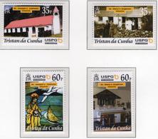 2001 - TRISTAN DA CUNHA - Yv.  Nr. 691/694 - (UP131.17) - Tristan Da Cunha