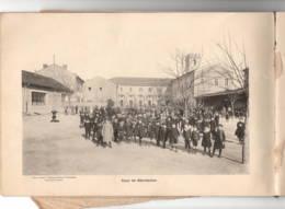 ARLES 1913_1914 Collège Et Primaire Supérieur, Carnet Photos 16 Pages TTB état Voir Qqs Photols - Old Paper