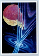 LAUNCHING OF SUPER-SPACESHIP Soviet Cosmos Space New Postcard - Espace