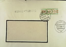 DDR: ZKD-Fern-Brief  OSt. Berlin N4 10.6.60, Nr: =M 1466508= Abs: Staatl. Kontor Für Zellstoff Und Papier Knr: 31 III M - [6] République Démocratique