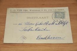 46-   BEDRIJFSKAART, C.G. VAN DIJK - ZALTBOMMEL - 1914 - Kaarten