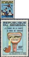 Ref. 92482 * NEW *  - SENEGAL . 1981. CAMPAIGN AGAINST TOBACCO. CAMPA�A ANTI TABACO - Senegal (1960-...)