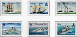 2001 - TRISTAN DA CUNHA - Yv.  Nr. 695/700 - (UP131.17) - Tristan Da Cunha