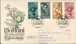 Ref. 258738 * NEW *  - RIO MUNI . 1960. CHILDREN'S CHARITIES. PRO INFANCIA - Río Muni