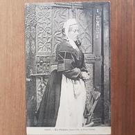Jeune Fille De Pont L'abbé.coiffe Costume Breton.édition Hamonic - Pont L'Abbe