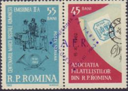 Ref. 368894 * USED *  - ROMANIA . 1962. STAMP DAY. DIA DEL SELLO - 1948-.... Republiken