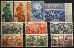 Nouvelle-Calédonie - 1942-46 Poste Aérienne Collection - NEUFS**TTB - Luftpost