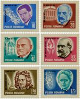 Ref. 105826 * NEW *  - ROMANIA . 1967. FAMOUS PEOPLE. PERSONAJES - 1948-.... Republics